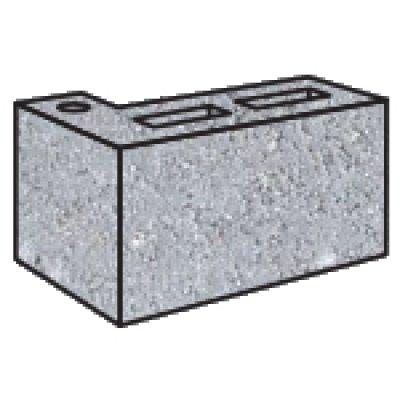 Grey Block 10.25 L Corner Return