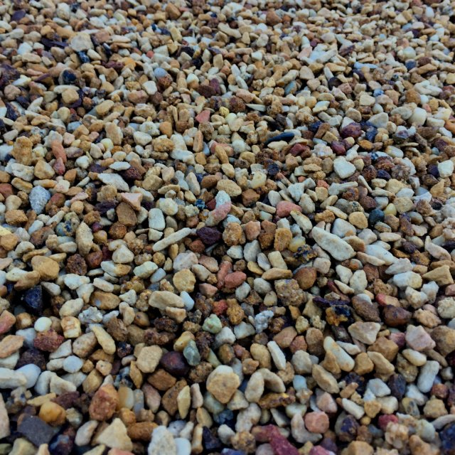 Bulk Decorative Stones : Bulk decorative gravel pebbles western landscape