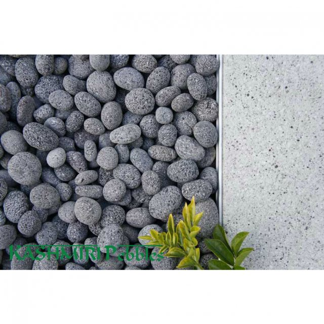 Charcoal Lava Pebbles Brisbane & Gold Coast