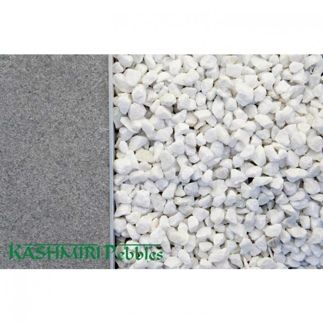 Crushed White Pebbles Supplies Brisbane & Gold Coast