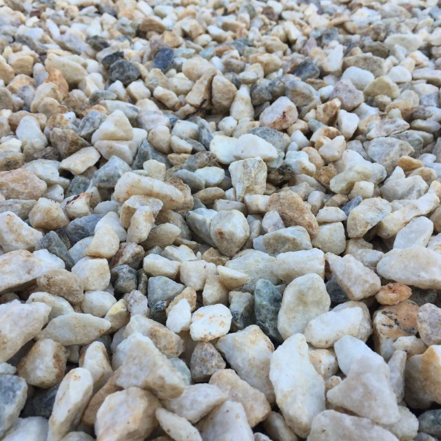 White Crushed Gravels/Pebbles Supplies Ipswich, Brisbane & Gold Coast